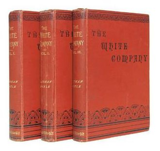 The White Company - First book edition in 3 volumes (UK)