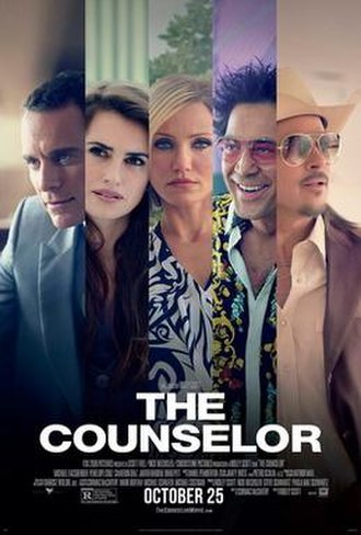 The Counselor - Image: The Counselor Poster