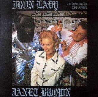 The Iron Lady (album) - Image: The Iron Lady album front cover (1979)