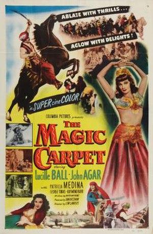 The Magic Carpet (film) - Theatrical release poster
