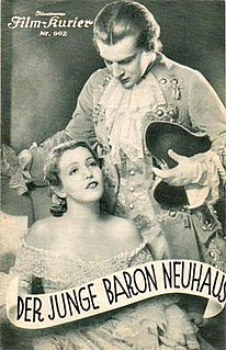 <i>The Young Baron Neuhaus</i> 1934 film