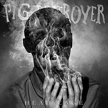 L UNLEASHED - Page 28 220px-The_cover_for_Pig_Destroyer%E2%80%99s_sixth_studio_album%2C_Head_Cage