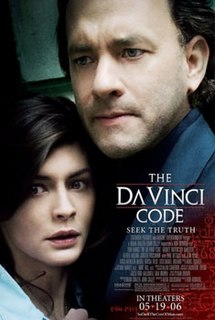 <i>The Da Vinci Code</i> (film) 2006 American mystery thriller film directed by Ron Howard