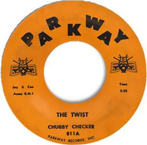 The Twist (song) - Image: The twist 45