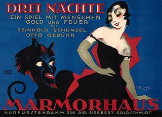 <i>Three Nights</i> 1920 film directed by Carl Boese