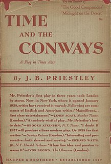 <i>Time and the Conways</i> play written by J. B. Priestley