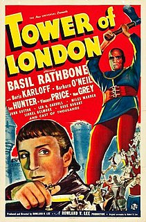 <i>Tower of London</i> (1939 film) 1939 film by Rowland V. Lee