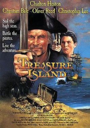 Treasure Island (1990 film) - US Poster