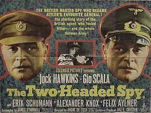The Two-Headed Spy - Theatrical poster