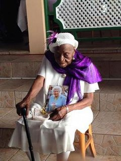 Violet Brown Jamaican supercentenarian