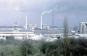 West Thurrock Power Station - West Thurrock Power Station, 1973.