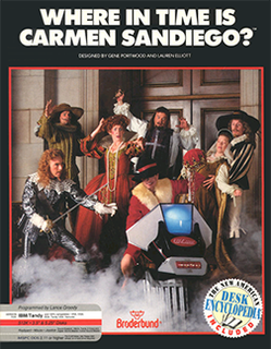 <i>Where in Time Is Carmen Sandiego?</i> (video game) 1989 computer and video game