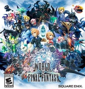 World of Final Fantasy - North American cover art