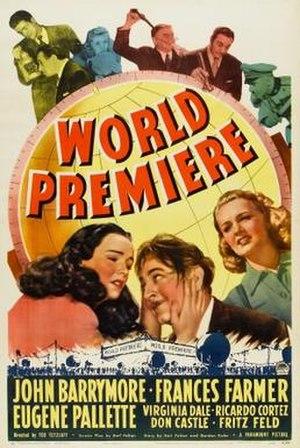 World Premiere (film) - Theatrical release poster