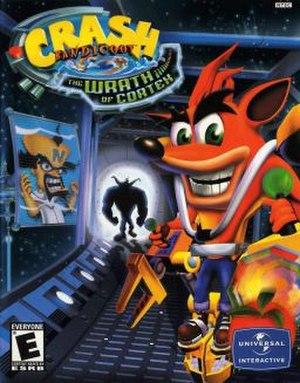 Crash Bandicoot: The Wrath of Cortex - North American box art