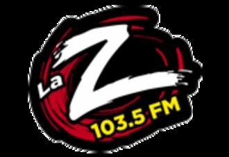 XHEM-FM - Image: XHEM La Z103.5 logo