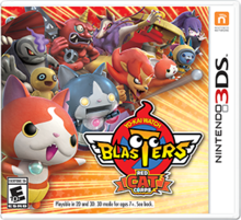 Yo-kai Watch Blasters Red Cat Corps Artwork.png