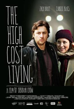 The High Cost of Living - Theatrical release poster