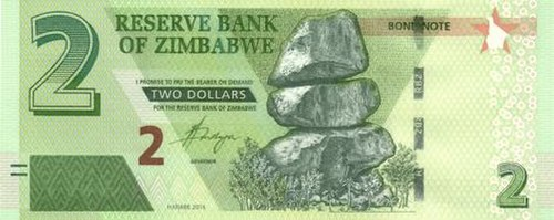 Zimbabwean Bond Notes