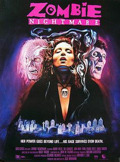 <i>Zombie Nightmare</i> 1986 film