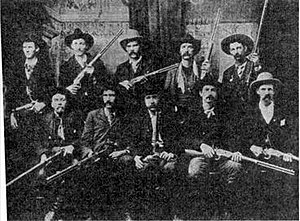 Gunfighter - Gunslinger in the 19th century.  Note this is the Ned Christie posse