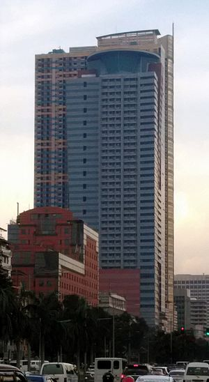 1322 Golden Empire Tower - The building in 2016