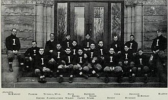 1902 Illinois Fighting Illini football team - Image: 1902 Illinois Fighting Illini football team
