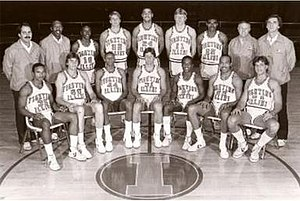 1983–84 Illinois Fighting Illini men's basketball team.jpg