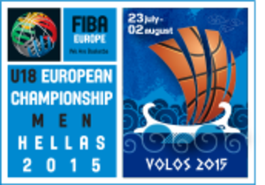 2015 FIBA Europe Under-18 Championship - Image: 2015 FIBA Europe Under 18 Championship logo