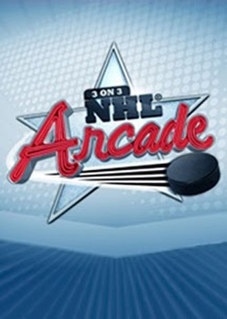 3 on 3 NHL Arcade - Image: 3 on 3 NHL Arcade cover