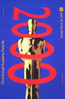 72nd Academy Awards Award ceremony presented by the Academy of Motion Picture Arts & Sciences for achievement in filmmaking in 1999