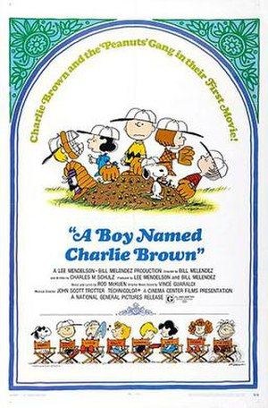 A Boy Named Charlie Brown - Theatrical release poster
