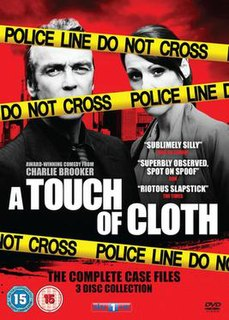<i>A Touch of Cloth</i> British television satire of police procedural dramas