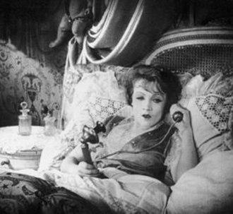 A Modern Dubarry - A scene featuring future star Marlene Dietrich.