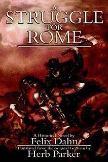 <i>A Struggle for Rome</i> book