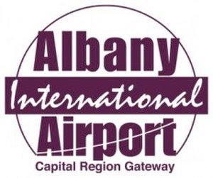Albany International Airport - Image: Albany Airport Logo
