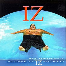 Pochette Alone in IZ World