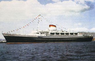 SS Andrea Doria - Image: Andreadoria 02