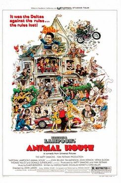 <i>Animal House</i> 1978 film by John Landis