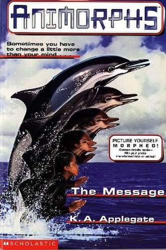 The Message (novel) - Cassie morphing into a dolphin.