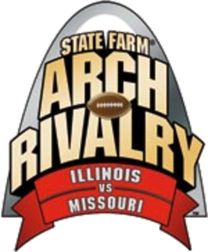 Illinois–Missouri football rivalry