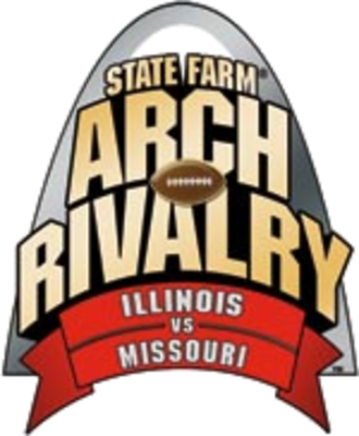 Illinois–Missouri football rivalry - Image: Arch Rivalry Logo
