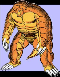 Armadillo (comics) Fictional supervillain