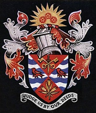 Municipal Borough of Dagenham - Arms of the former municipal borough