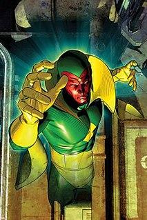 Vision (Marvel Comics) comic book character