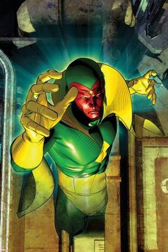 Vision (Marvel Comics) - Image: Avengers Vol 4 24.1