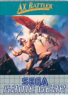 <i>Ax Battler: A Legend of Golden Axe</i> 1991 video game