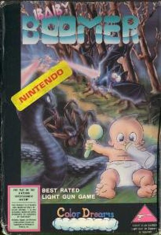 Baby Boomer (video game) - Cover art