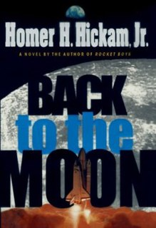 <i>Back to the Moon</i> book by Homer Hickam