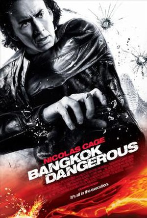 Bangkok Dangerous (2008 film) - Theatrical release poster